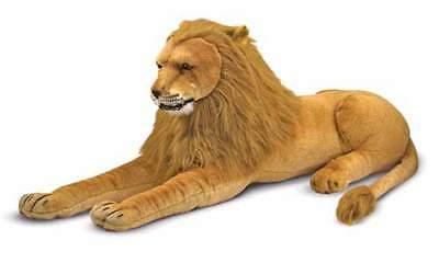 Melissa and & Doug Plush Animal Stuffed Lion - New