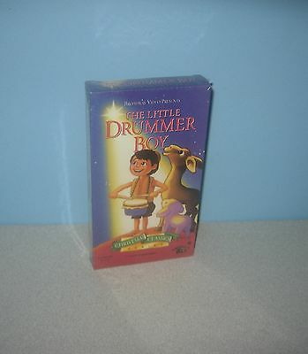 New f.h.e 1993 VHS Movie Little Drummer Boy Christmas Holiday Classic Animated