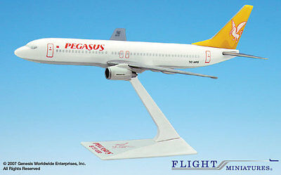 Flight Miniatures Pegasus Airlines Boeing 737-800 1:200 Scale Mint in Box