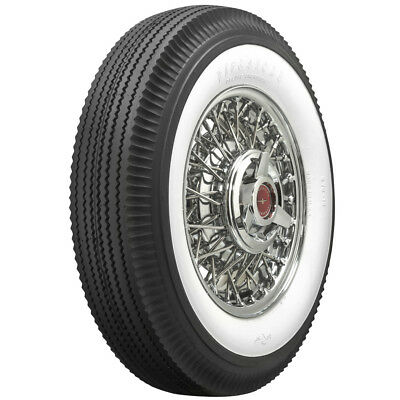 "670-15 Firestone 2 11/16"" Inch Whitewall Bias Tire"