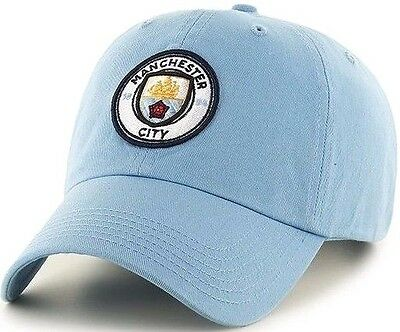 Manchester City Fc Embroidered Cap Adult Baseball Cap Official Licensed Mufc