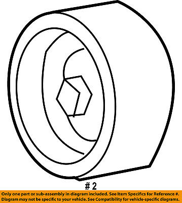 Serpentine Drive Belt Tensioner Pulley For F250 F350 F59 Discovery