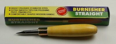 Straight Burnisher Polishing Buffing Metal & Stones Jewellery Makers Jewellers