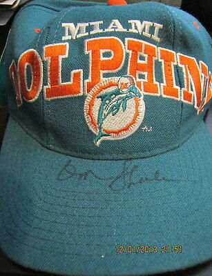 Don Shula Miami Dolphins Signed Pro-Line Starter Hat