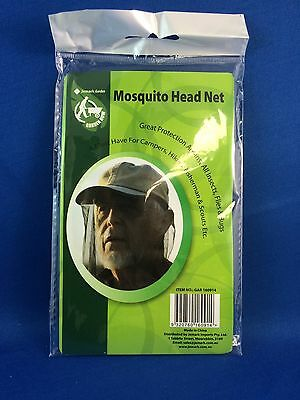 mosquito Fly insect head net for hats insect protection repellent new black