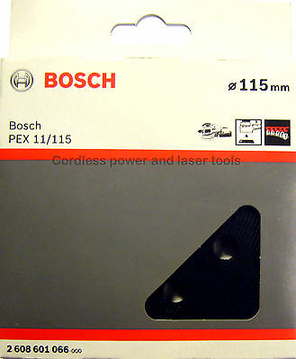Bosch SOFT Backing Sanding Rubber Base Pad Plate for PEX 11 115  2 608 601 066