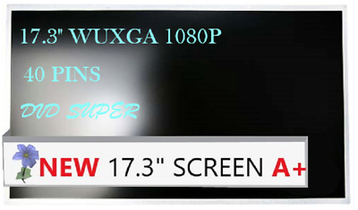"""New Display for Toshiba Satellite S75D-A7272  17.3/"""" FULLHD Laptop LCD LED Screen"""