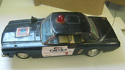 Tin Plate Mustang Made In Japan        F.B.I International