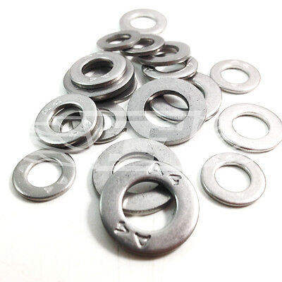 A4 Marine Stainless Steel Form B Washers M6 M8 M10 M12 M14 M16 M18 M20 - M39
