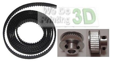 3D Printer GT2 Timing Belt and Pulleys 36 Teeth 8mm Diamenter Shaft - Reprap