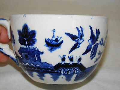 Buffalo Pottery Blue Willow Cup c1916