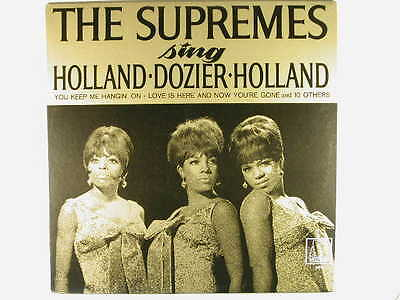 The Supremes Sing Holland, Dozier, Holland Motown LP ~ Motown VG+