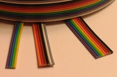 Ribbon Cable - 4A - 3D Printer Stepper Motors - Heavy Duty 4Amp Wire - 20AWG