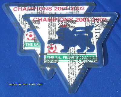 Lextra Barclays EPL Arsenal 01-02 Champions Arm Patches