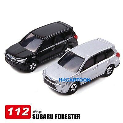 2013 New Takara Tomica 112-2 Subaru Forester Diecast Car-Red / 1St Limited