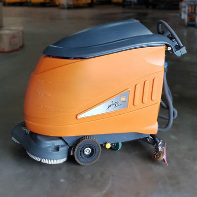 USED TASKI Swingo1650B Battery-Powered Auto FLOOR SCRUBBER Machine Drier