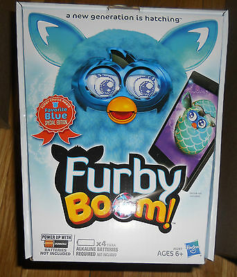 Furby Boom Teal Blue Special Edition Rare Exclusive