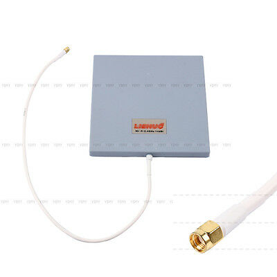 14dbi 2.4Ghz SMA Antenna Panel High Gain WiFi Wlan Extender Directional Range
