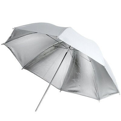 Neewer 33'' White Silver Reflective Umbrella for Studio Flash Lighting