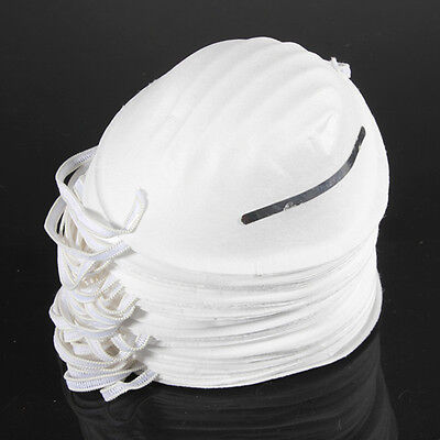 100 × Dust Face Mask Filter Mouth Disposable Medical Safety Respirator Antidust