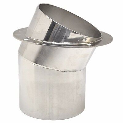 Rinker 6 Inch Polished Stainless Steel Marine Boat Exhaust Tip