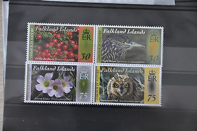 H 226 + Falkland Islands 2012 Birds Vogels Oiseaux Uil Owl Mnh**