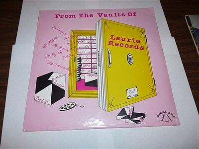 SEALED FROM THE VAULTS OF LAURIE RECORDS COMPILATION LP R&B DOO WOP