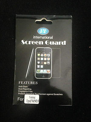 JY International Screen Guard For Normal iPod NANO 5