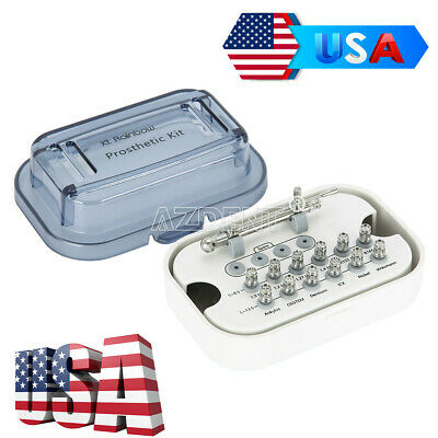 Dental Implant Torque Wrench Ratchet with 12 Drivers & Wrench Kits 10-70NCM Box