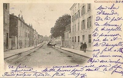 Carte Postale Commercy  Meuse  - Rue Carnot