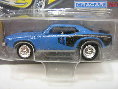 Johnny Lightning -1971 Plymouth Hemi Cuda Blue - Limited Edition 1:64 NOS NOC