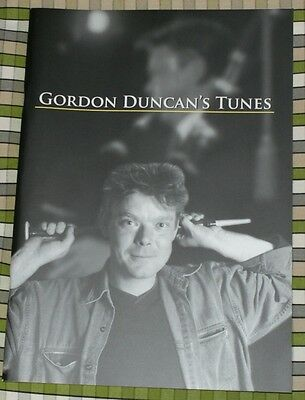 Gordon Duncan Tunes for HIGHLAND BAGPIPE BOOK PIPES TRAD FOLK