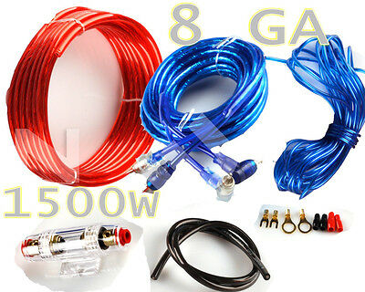 vm audio srpk4r 4 gauge ga car amplifier amp installation wiring 1500w sub audio 8 gauge car amplifier amp installation wiring complete kit rca