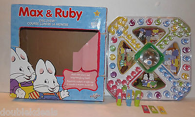 Rare Max And Ruby Game - Discovery Dice - Pop Down Dice Ages 3+