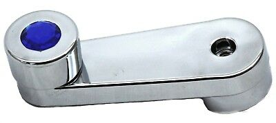 window crank blue jewel chrome plastic slotted Freightliner Classic FLD 1994 &up