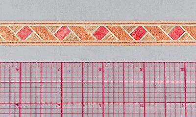 "5/8"" Barber Pole/Ribbon  -- Frères Marquetry Banding Strips (Inlay-28b)"