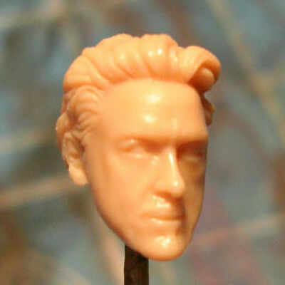 """MH445 Custom Cast Sculpt Male Elf head cast for use with 3.75/"""" action figures"""