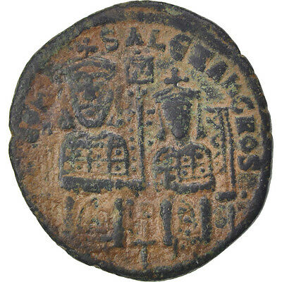 [#61570] Leo VI the Wise 886-912, Follis, Constantinople, VF(30-35), Copper