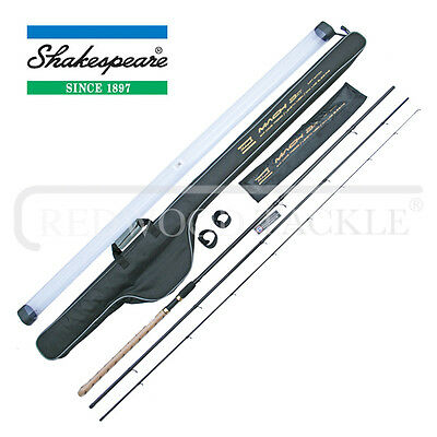 Shakespeare Mach 3 XT Range Of Feeder Or Match Rods With Rod & Reel Sleeve
