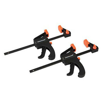 2Pc Clamps 100Mm 2Pc  Ratchet Clamps Bar Clamp Spreader Quick Release