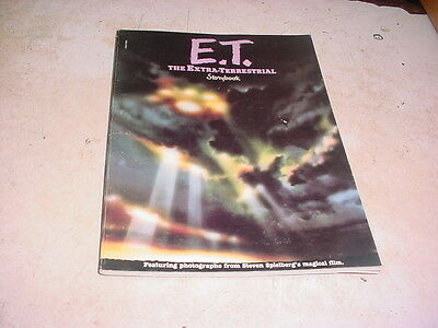 E.T.The Extra-Terrestrial Storybook by William Kotzwinkle steven spielberg film