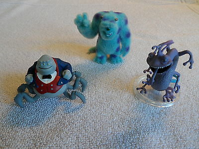 Disney Pixar Micro World Mosters Inc & The Incredibles