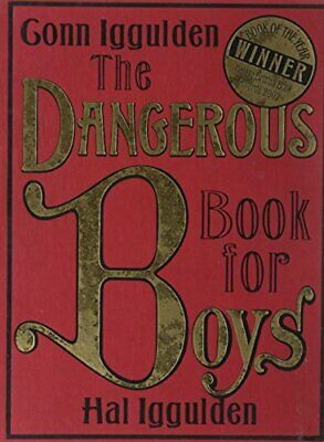 The Dangerous Book for Boys by Iggulden, Hal Hardback Book The Cheap Fast Free