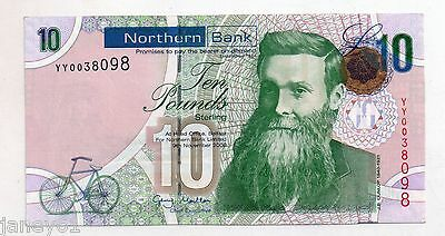 ~ NORTHERN IRELAND Replacement £10 Banknote - Northern Bank - P210ar  ~
