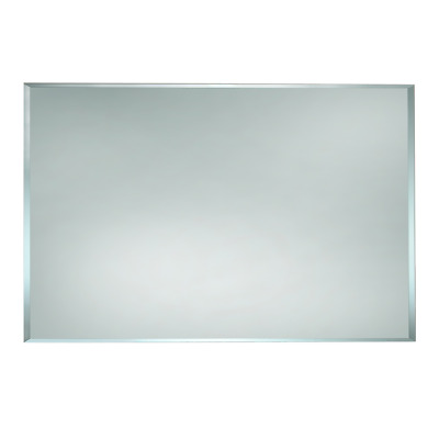 BATHROOM MIRROR 900mm x 750mm VERTICAL HORIZONTAL BEVELLED EDGE BEM900*750
