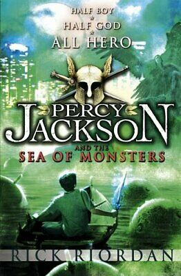 Percy Jackson and the Sea of Monsters by Riordan, Rick Paperback Book