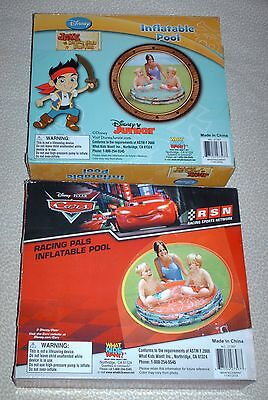 New Disney inflatable kids pool - choose from CARS or JAKE & never land pirates