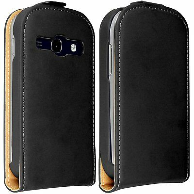 ULTRA SLIM Leather Flip Case Cover for Samsung Galaxy Fame GT-S6810 / S6810p