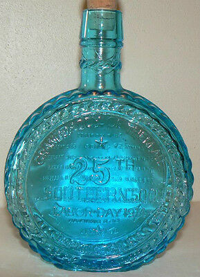 Rare 1974 Wheaton Commemorative Nascar Southern 500 Race Flask/decanter /bottle