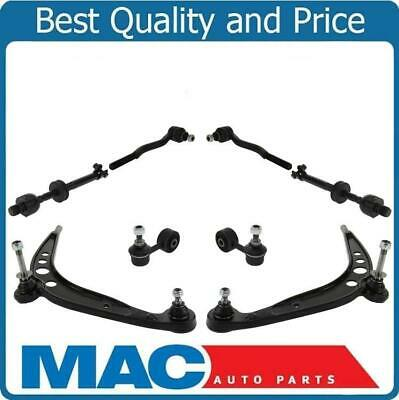 100% New Front Lower Control Arms Tie Rods Sway For BMW E30 for 84-85 318i 6pc